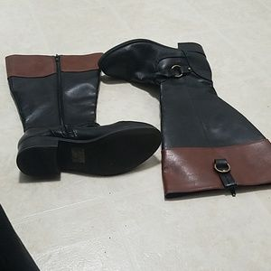 High boots wide calf great condition